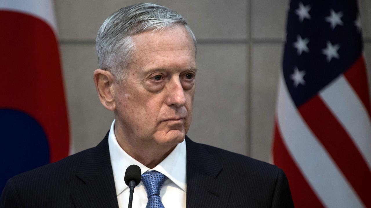 Trump: Unsure if Mattis plans to leave admin