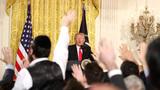 Media more trustworthy than Trump, poll finds