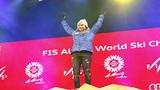 Mikaela Shiffrin wins historic third straight world slalom title