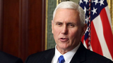 Pence met with open skepticism in Brussels