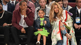 Blue Ivy channels Beyonce at NBA All-Star Game