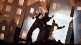 Katy Perry mocks Trump at Brit Awards