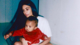 Kim Kardashian and Son Saint Wear Matching Yeezys, Goof Off in Adorable&hellip&#x3b;