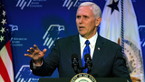 Pence pledges to 'keep our end of the bargain' with top Jewish supporters