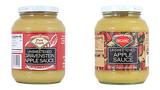 Trader Joe's apple sauces recalled