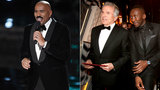 Steve Harvey Reacts to Epic Oscars Flub: 'I Can Help Warren Beatty Through This'