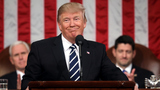 Trump's first address to congress scores solid ratings