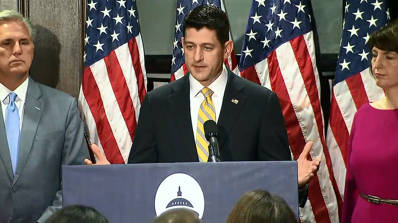 Paul Ryan says Moore should 'step aside,' allegations 'are credible'