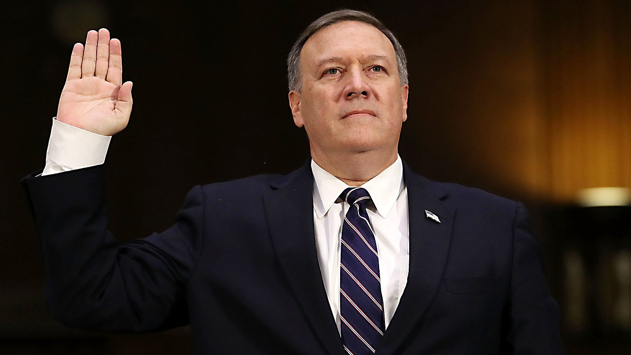 CIA director met with conspiracy theorist at Trump's urging
