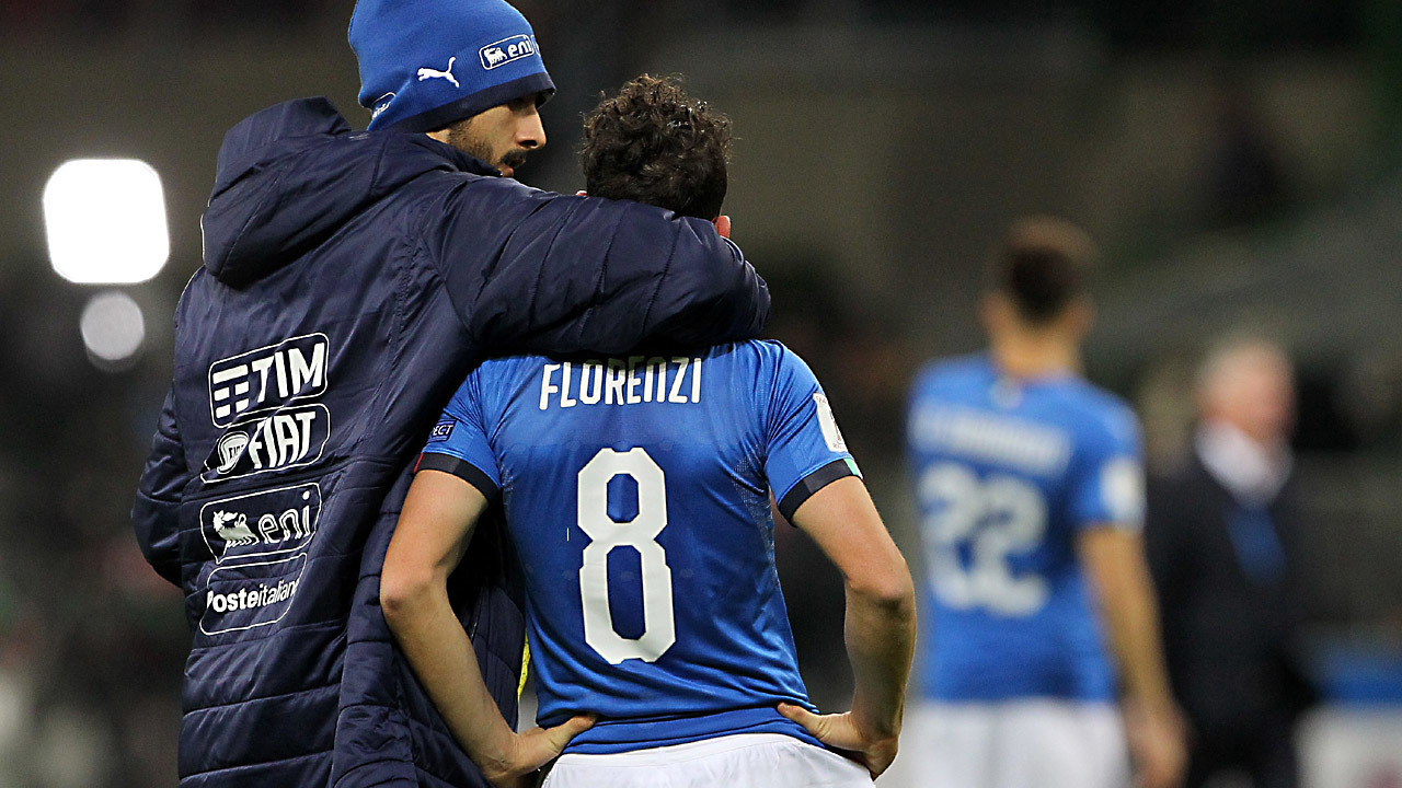 Italy misses World Cup spot