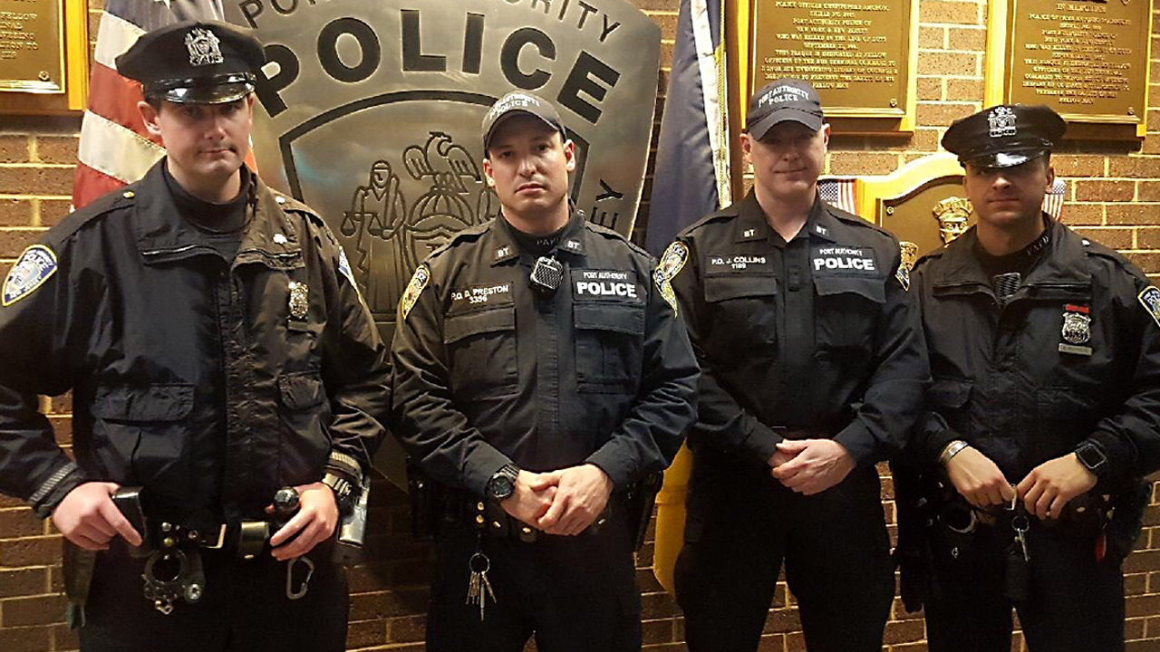 Port Authority Bombing Suspect >> These officers stopped the New York pipe bomb suspect