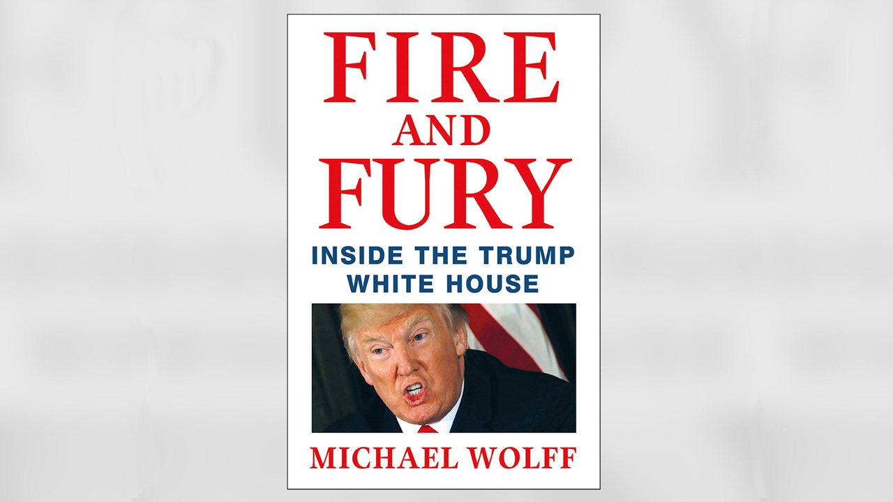 'Fire and Fury' No. 1 on NYT best sellers list