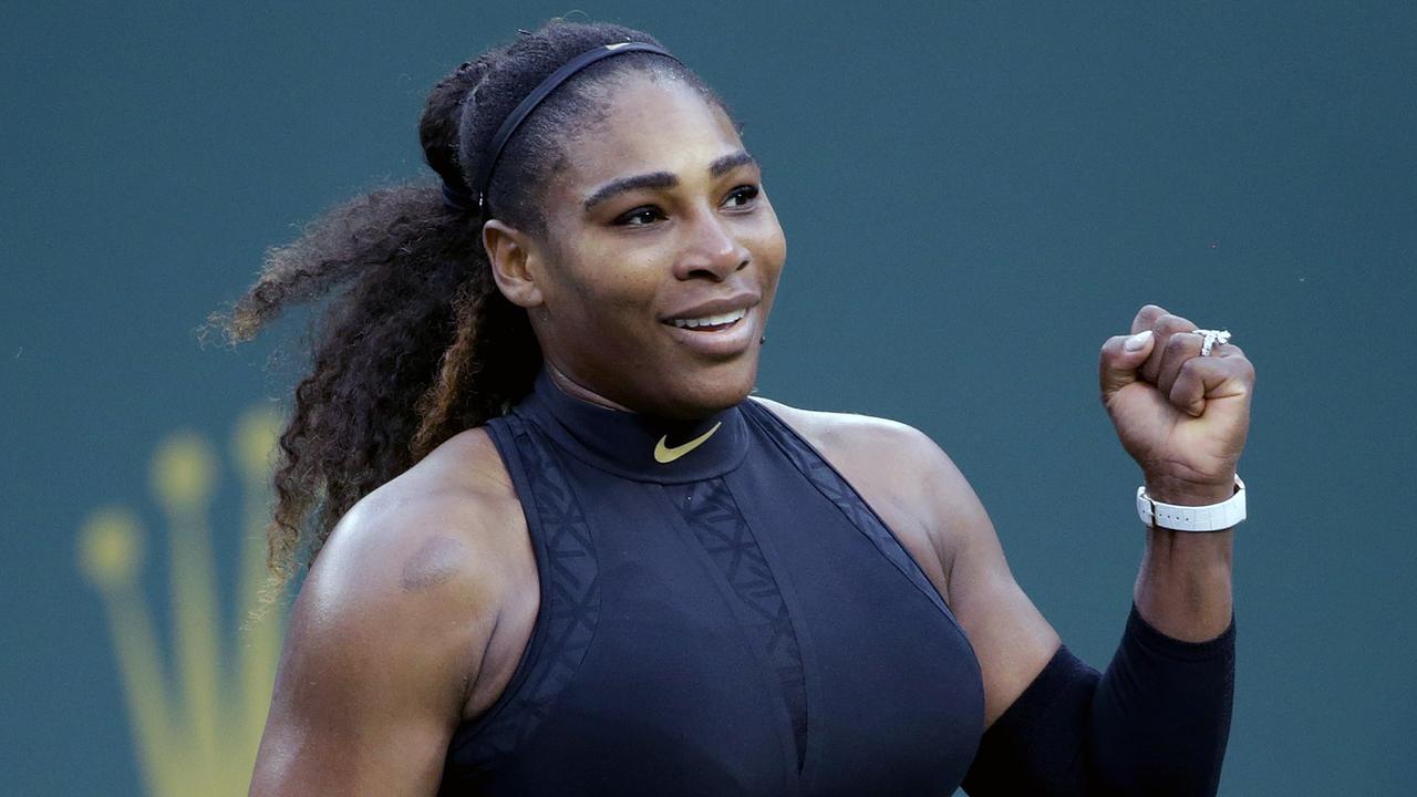 Ivanka Trump serves up support for Serena Williams