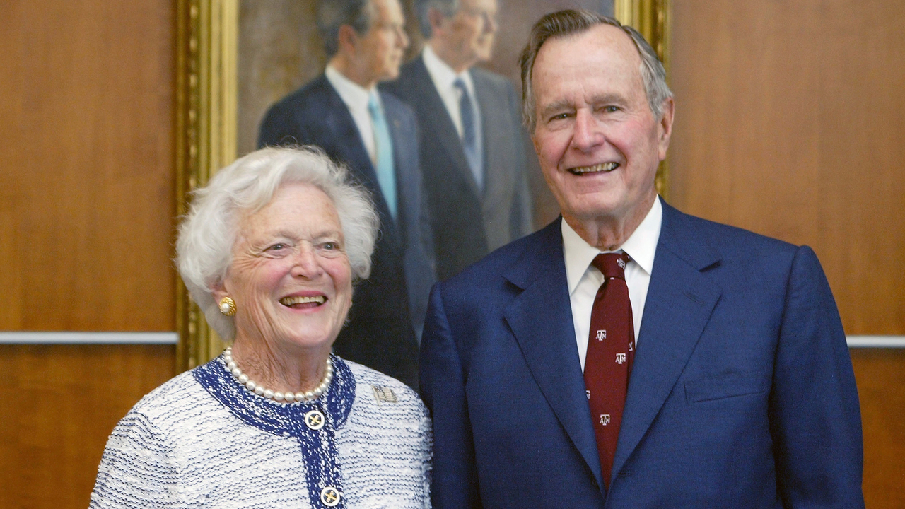 George HW Bush to be laid to rest next to wife, daughter