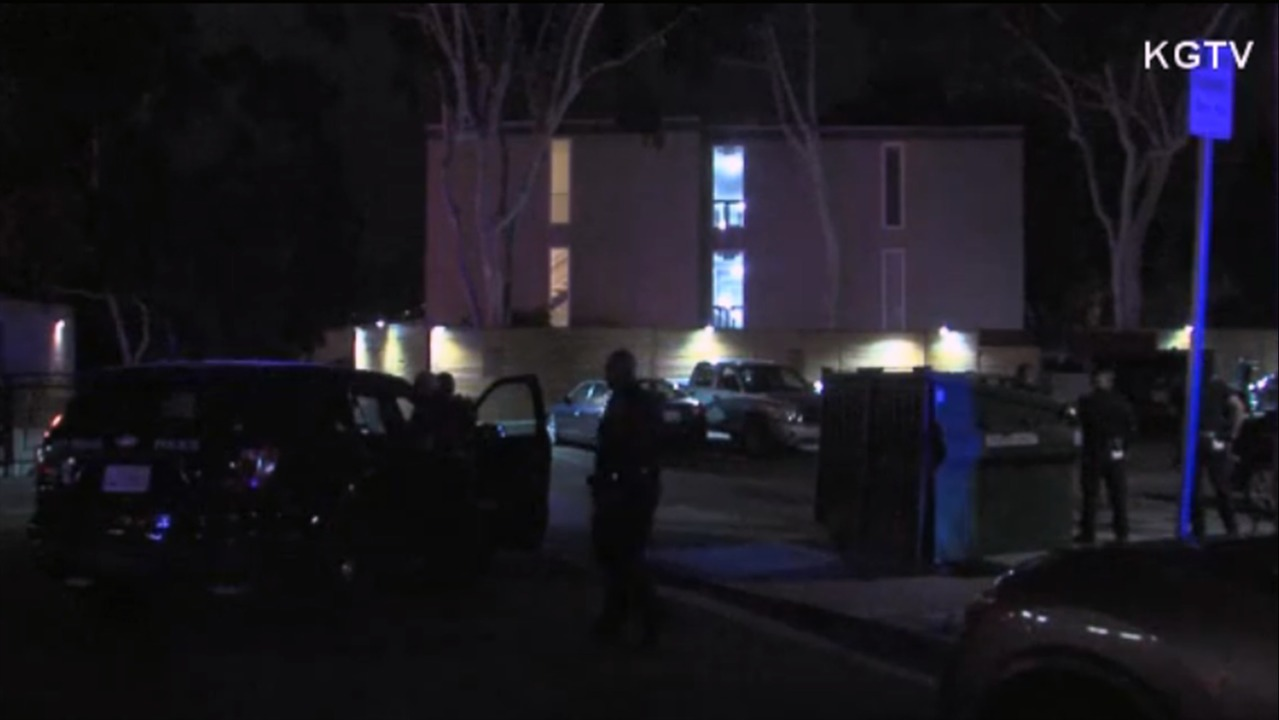 Two San Diego police officers shot while responding to call