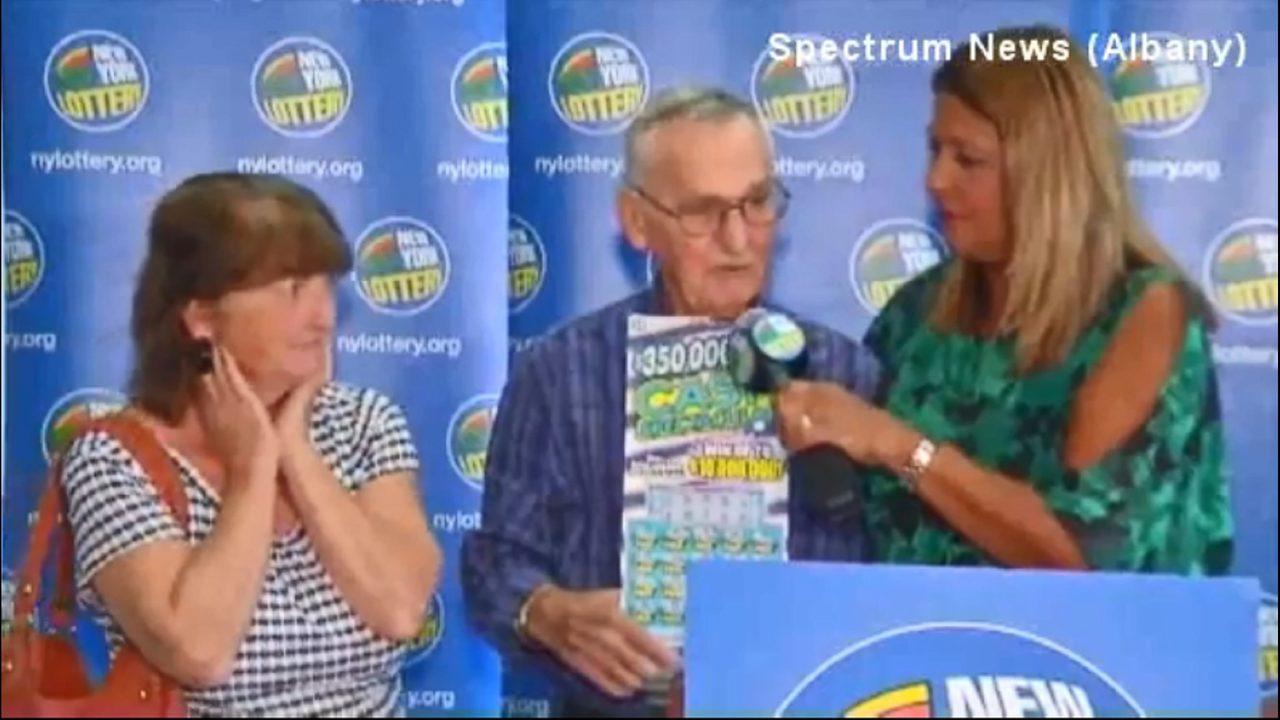 New York man credits dog for winning lottery ticket