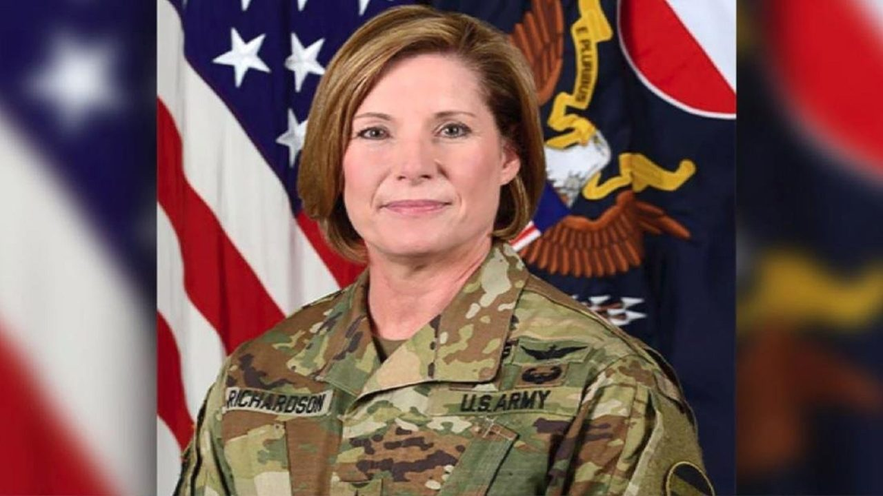 US Army command has its first female leader