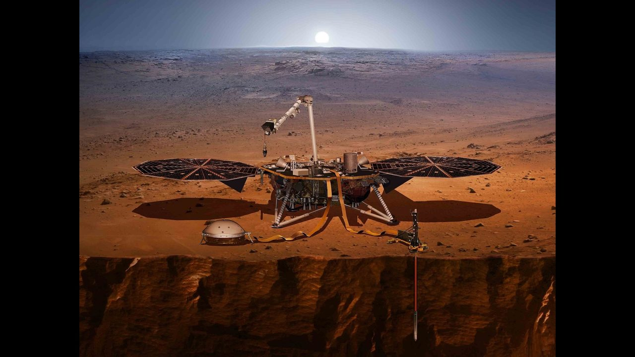 mars insight landing tv - photo #14